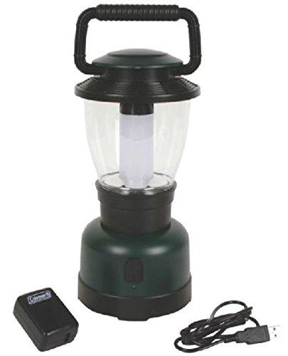 Coleman Rugged Rechargeable 400L LED Lantern, Li-Ion, Green / Black