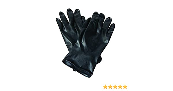 13 mil North by Honeywell 11 Unsupported Chemical-Resistant Butyl Gloves with Smooth Grip RWS-57011 Size 8
