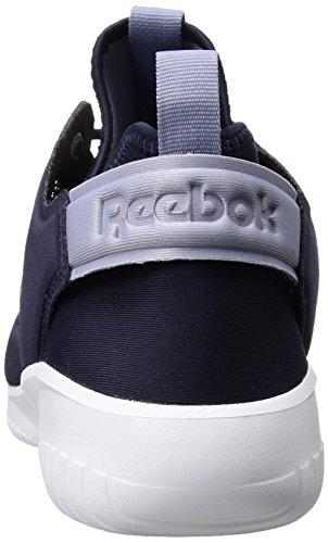 Reebok Vrouwen Skycush Evolutie Lux Mode Sneaker Paars Delirium / Paars Mist / Wit / Citroenschil