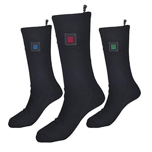 Swide Verwarmde Sokken Mannen Vrouwen Elektrische Verwarming Sokken USB Oplaadbare Thermische Verwarmde Sokken 37 V 2200…