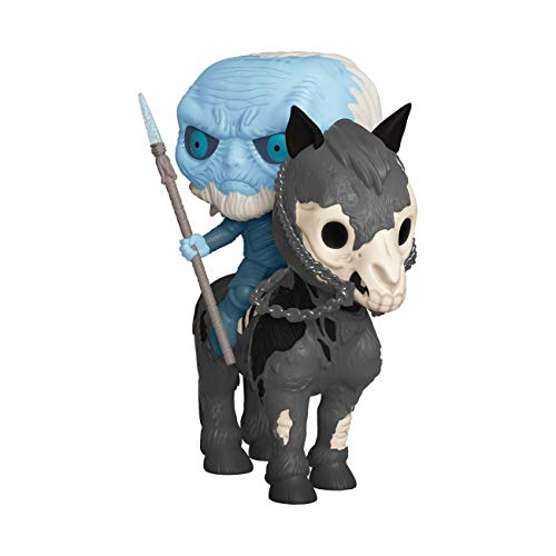 Funko Pop! Rides: Game of Thrones - White Walker On Horse, Multicolor, -