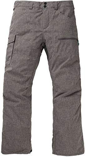 Burton Mens Covert Insulated Pant, Bog Heather New, Large