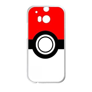 Pokemon Pokeball Cell Phone Case for HTC One M8