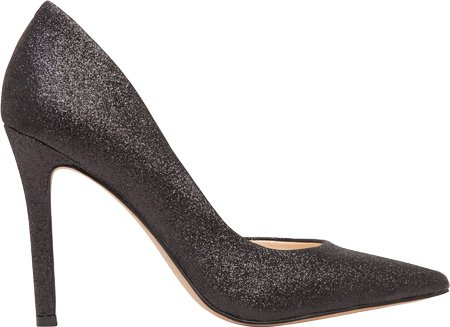 Jessica Simpson Dames Claudette Dorsay Pump Zwart Glitter