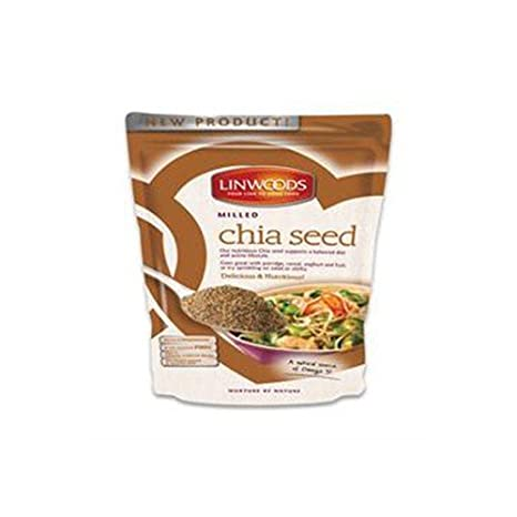 Paquete de 12) Linwoods - Semillas de chía fresada 200 g: Amazon ...