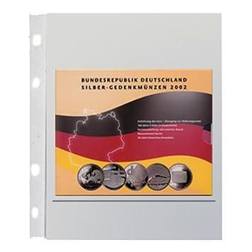 5 X Safe Nr 884 Münzhüllen Ergänzungsblätter Coin Compact 1