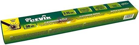 Cevik TECA502.0RU - Caja 50 uds electrodos rutilo 2 mm
