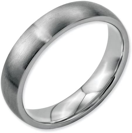 Bridal Stainless Steel 5mm Brushed Band