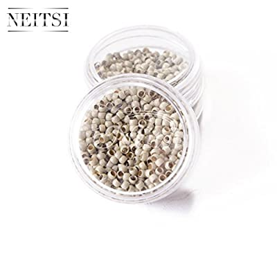 Neitsi® Nano Rings Beads for Nano Tip Remy Hair Extensions