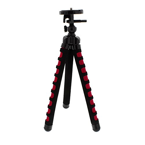 Albinar 11 Inch Large Flexible Bendy Twist Spider Leg and Swivel Light Weight Portable Travel Tripod for Cameras Camcorders Photography by Albinar