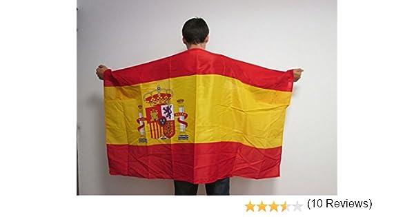 AZ FLAG Bandera de ESPAÑA con Mangas para hinchas - Bandera ...
