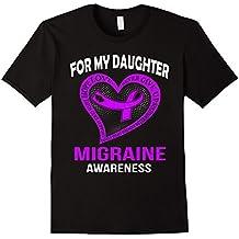 Purple for my daughter MIGRAINE Awareness t-shirt