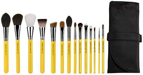 Bdellium Tools Professional Makeup Studio Line The Collection 14pc. Brush Set with Roll-Up Pouch