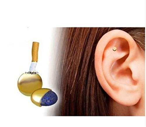 Foreverstore Magnetic Therapy Quit Stop Smoking Smoke Ear Auricular Magnet Magnetic Therapy Loss Weight Acupressure