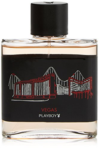 COTY Vegas Playboy Men Eau De Toilette Spray, 3.4 - Mens Vegas Fashion