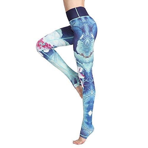 Witkey Printed Long Women Yoga Leggings High