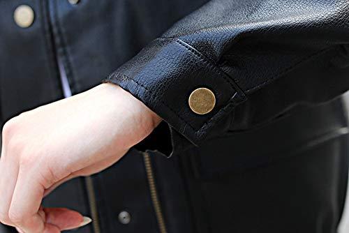 nbsp;otoño La Black Capucha Chaqueta Femenina Wjmm De Las Sección Blazer Única Con Botonadura Mujeres Del Corta nbsp;chaqueta xAa4n0q7
