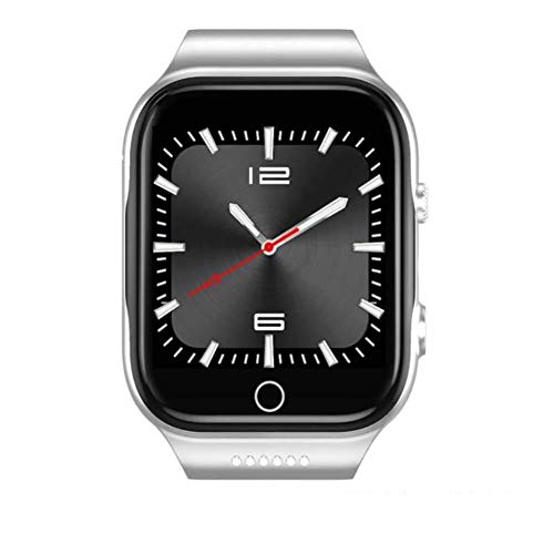 - ZKKZ Smart Watch Android 3g Quad-Core GPS Camera WiFi Bidirectional Positioning Application Download Riding, Driving, Running (Color : Silver-8gb)