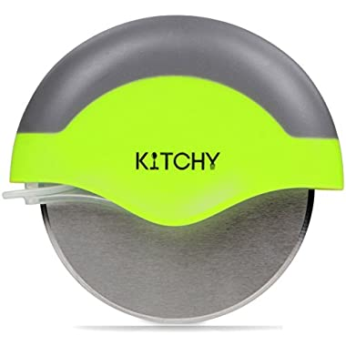 Kitchy Pizza Cutter Wheel, Stainless Steel