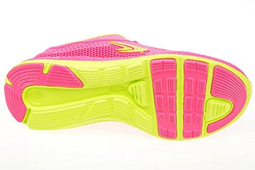 gibra - Zapatillas de sintético/textil para mujer Rosa - pink/neongrün