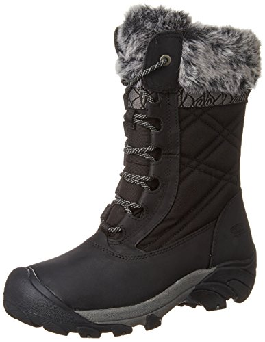 KEEN Women's Hoodoo III Winter Boot, Black/Gargoyle, 9 M US by KEEN