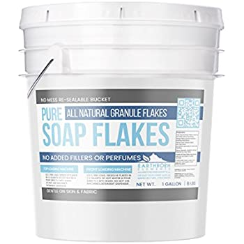 Pure Soap Flakes (1 Gallon (5 lbs)) by Earthborn Elements, Ingredient