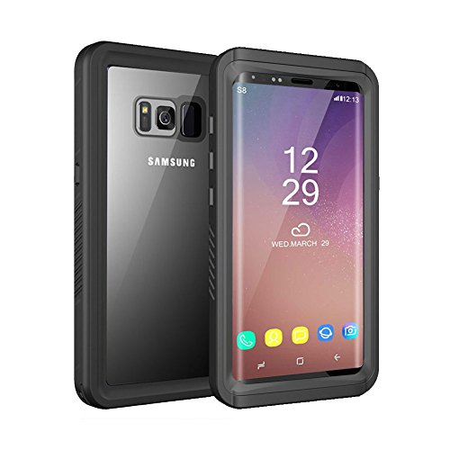 Price comparison product image Waterproof Case for Samsung Galaxy S8 [NOT for S8 PLUS]OWKEY Shock Snow Dust Dirty Proof Full-sealed Protective Hard Cover, Underwater IP68 Certificated with Touch ID Case for Samsung Galaxy S8.