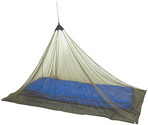 Mozzie Master Single Mosquito Camping and Travel Net, 100% Polyester, Compact and Lightweight, Fits Most Sleeping Bags, cots, and Tents (Black)
