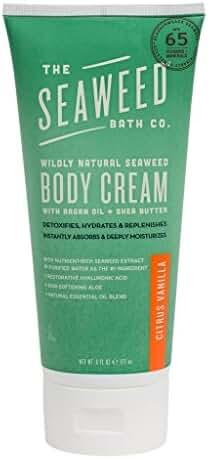 The Seaweed Bath Co. Body Cream, Citrus Vanilla