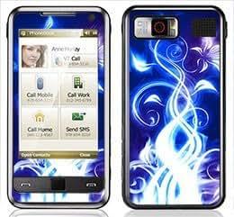 Electric Blue Skin for Samsung Omnia i900 and i910 Phone