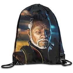 Drawstring Bag Apex Legends Game 2 Gym Sport Bags Cinch Sacks Travel Hiking Backpack For Men Women