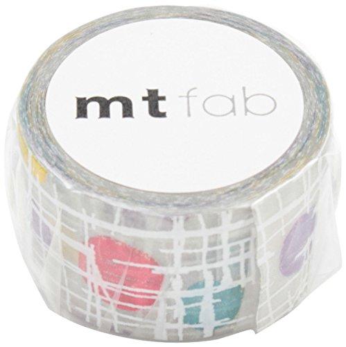 MT Washi Screen Print Masking Tape, Circle & Line, 20mm x 3m (MTSC1P01)