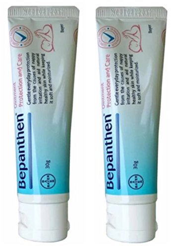 Bepanthen Protective Baby Ointment Anti Nappy Rash 30g , 2 Pcs By Thaidd