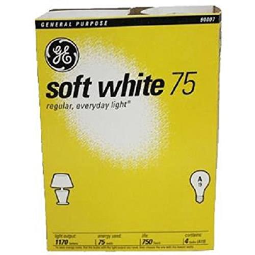 Price comparison product image G.E Bulbs 75 Watts, 1 Count (LIGHT BULBS)