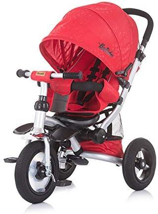 Chipolino Tricycle VÉLO pour Enfants, Couleur Navy Rouge