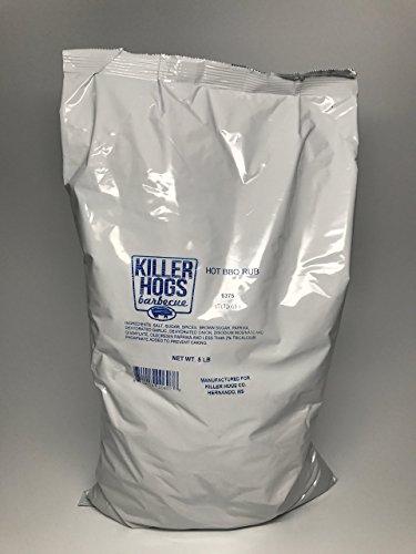Killer Hogs BBQ Hot BBQ Rub (5 LB Bag)