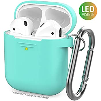 Amazon.com: ZALU Compatible for AirPods Case with Keychain