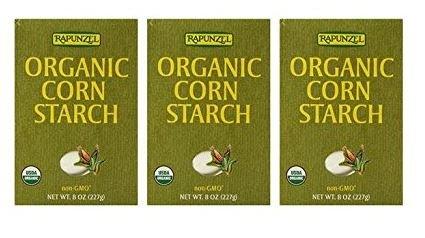 Rapunzel Organic Corn Starch, 8 oz (Pack of 3)