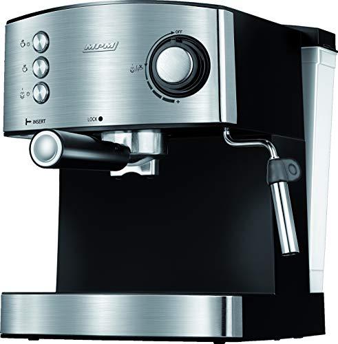 MPM MKW-06M Cafetera Express 20 Bares, para Realizar café Espresso y Cappuccino, vaporizador para espumar Leche…