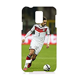 Dortmund FC Phone Case Crazy Players Football Club Player Mats Hummels 3D Custom Cell Phone Case for Samsung Galaxy S5 I9600