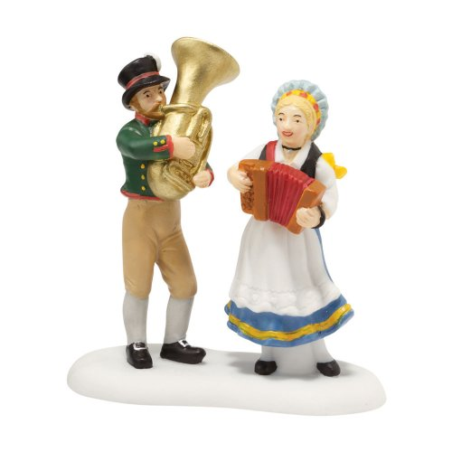 Department 56 Alpine Village Octoberfest Musicians Accessory Figurine, 2.875 inch