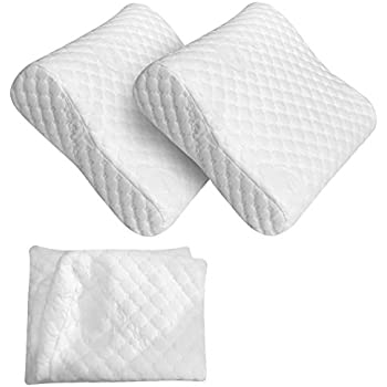 Amazon Com Red Suricata 2 Travel Contour Pillows Amp Double
