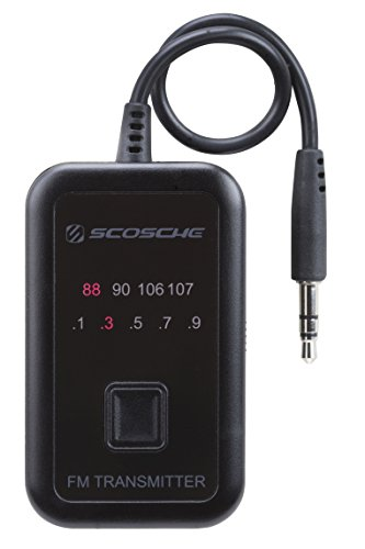 (SCOSCHE FMT4R FM Transmitter with 20 Frequency Selections)