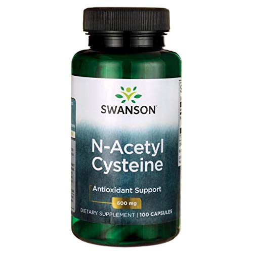 NAC N-acetyl Cysteine 600mg 3 Bottles of 100 Caps Total of 300 Caps by Swanson For Sale