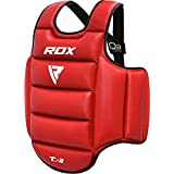 RDX Boxing Chest Guard MMA Body Protector Martial Arts Rib Shield Armour Taekwondo Training