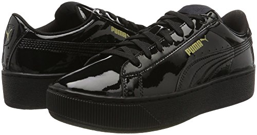 Negro Vikky Para Patent Zapatillas Platform Mujer Puma black RxU7nYU