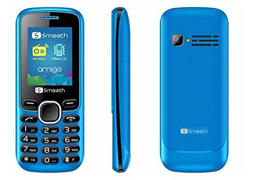 Smooth Amigo 1.8″ VGA Dual Sim 2G Unlocked Cell Phone (Blue)