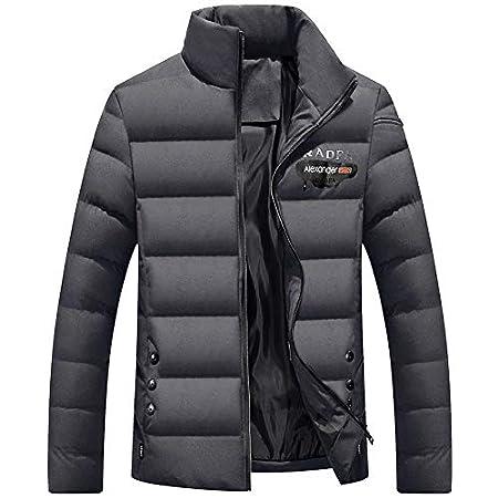 ASDSI 1 Vestiti Invernali, Cotone da Uomo, Cotone da Uomo