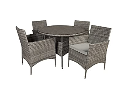 Outdoor Patio Table and Chairs Dining furniture Set
