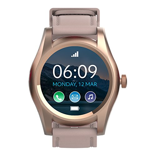 BLU X Link - Smartwatch Compatible with Android and iOS -Rose Gold by BLU